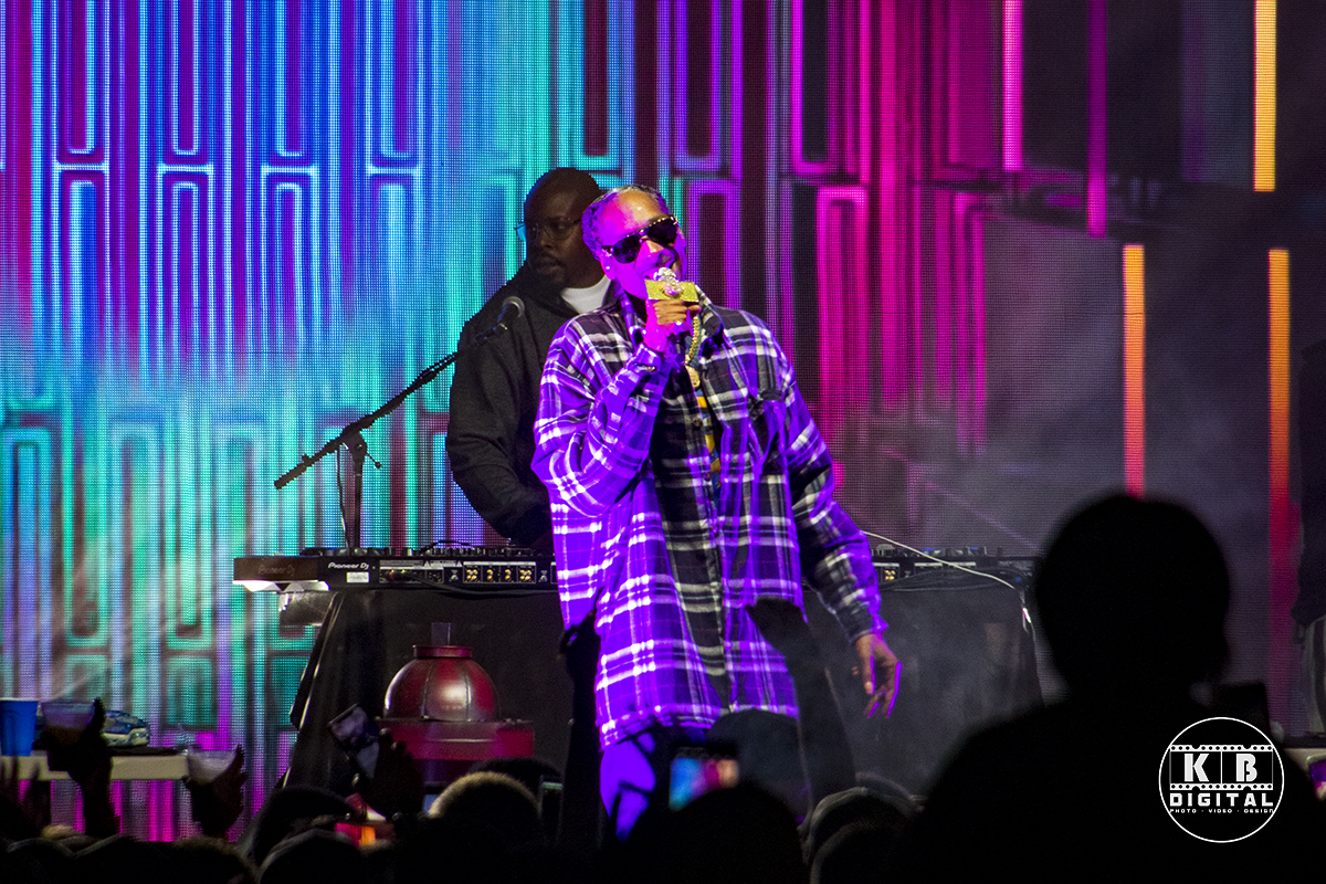 Snoop Dogg performs in Rockford, Illinois.
