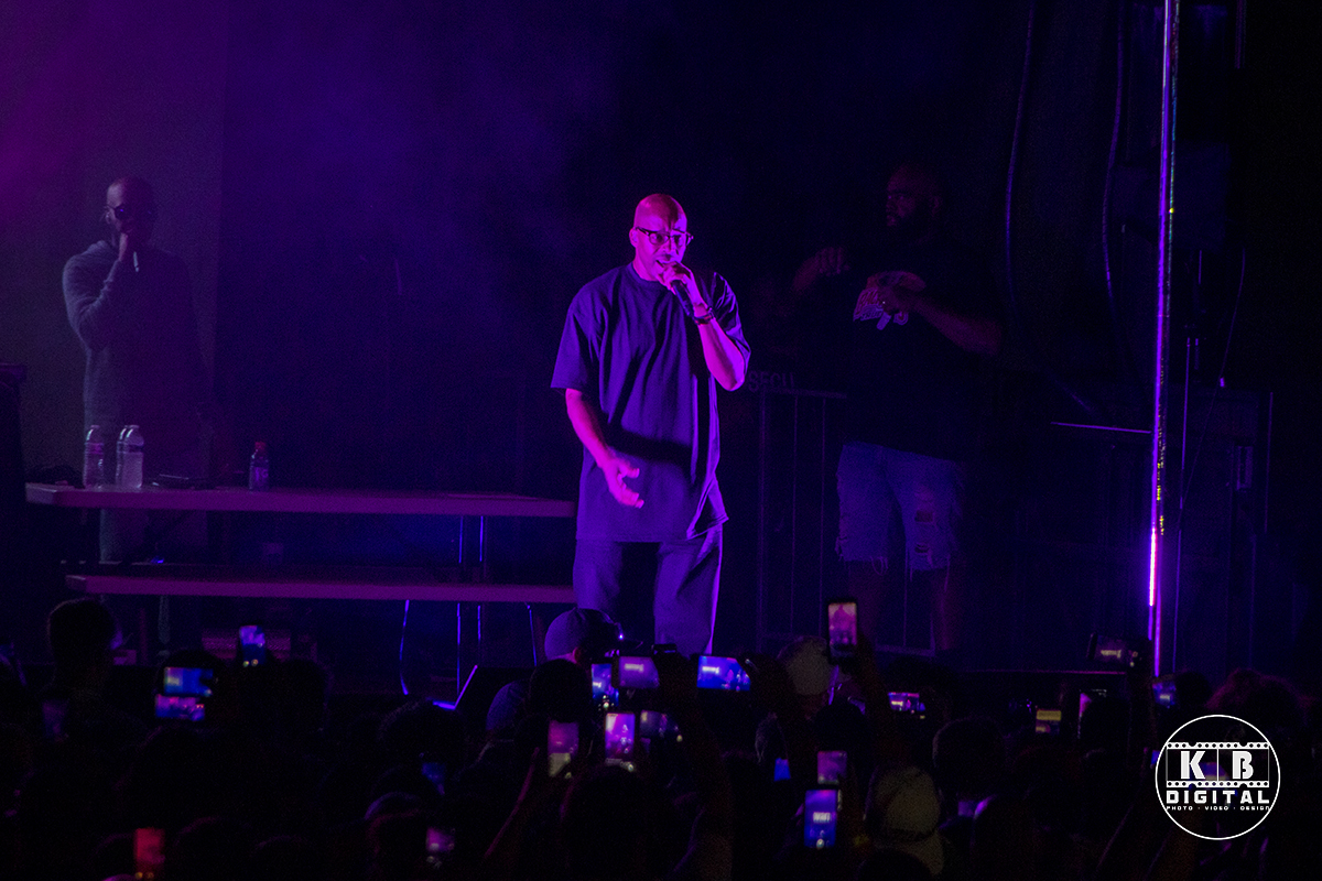 Warren G performs in Rockford, Illinois.