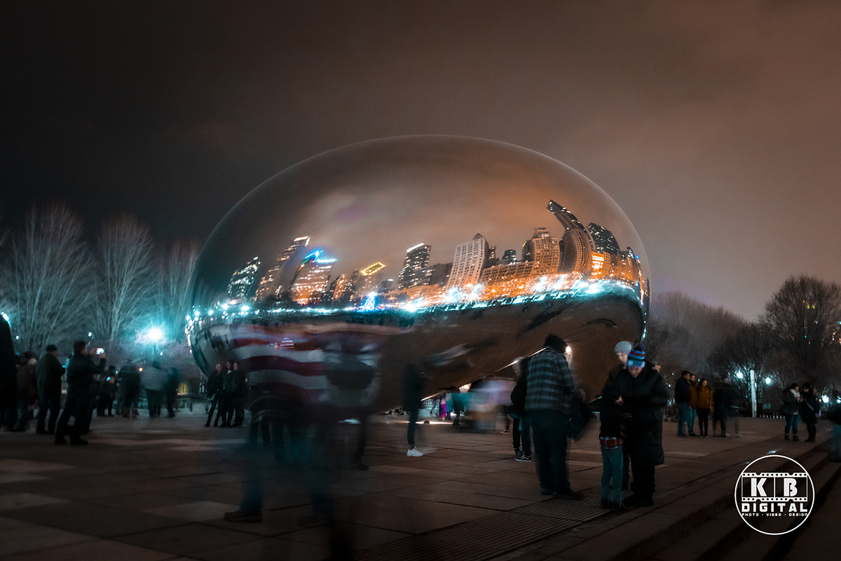 The Bean (Cloud Gate) in Chicago by KB Digital